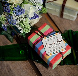 Emma's Soaps Fresh and Uplifting. Organic Shaving Soap