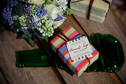 Emma's Soaps Fresh and Uplifting. Organic Shaving Soap