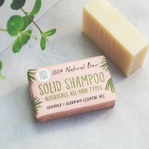 Lavender and Geranium 100% Natural Vegan Solid Shampoo