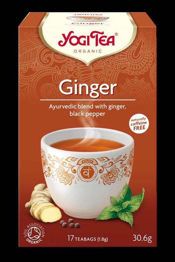 Yogi Tea Organic Ginger Tea [17bgs]