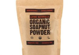 Organic soap nut powder - 250g Living Naturally