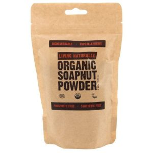 Organic soap nut powder - 250g Living Naturally