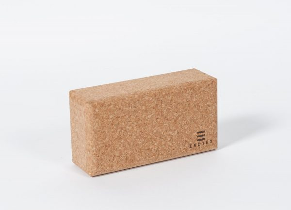 Eco-friendly & Sustainable Cork Yoga Brick