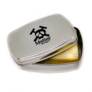 Mutiny Shaving Soap Tin