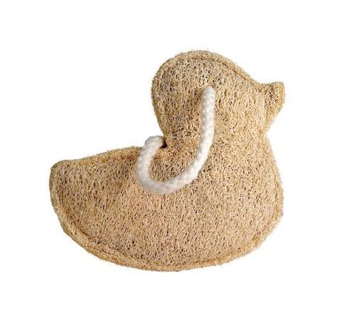 Croll & Denecke duck shaped Loofah Sponge