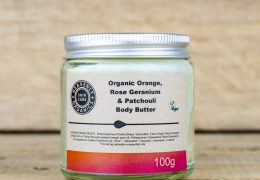 Heavenly Organic Orange, Rose Geranium & Patchouli Body Butter by Heavenly Organics