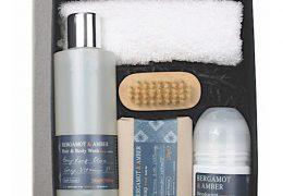 Bath House Bergamot & Amber Shower Gift Box