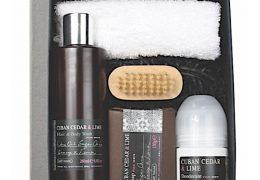 Bath House Cuban Ceder & Lime Shower Gift Box
