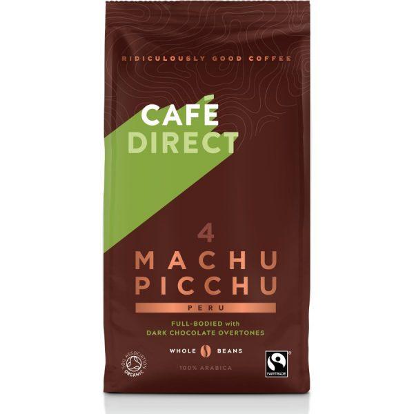 Cafedirect Machu Picchu Organic Gourmet Coffee Beans - 227g