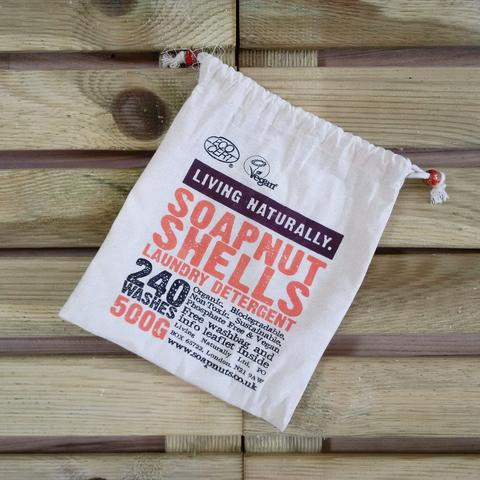 500g Muslin Soapnuts Storage Bag