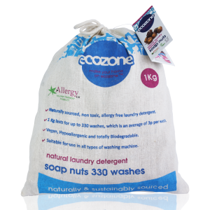 Ecozone Soapnuts natural laundry detergent soap nuts 330 washes 1kg