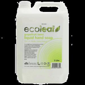 Ecoleaf Liquid Hand Soap - Grapefruit Twist 5 litre