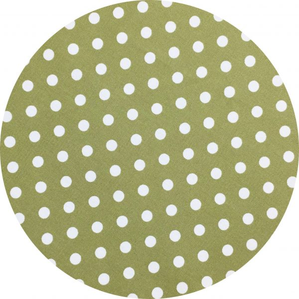 Biodegradable face mask by Tabitha Eve. Olive Dot