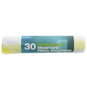 D2w Pedal Bin Liners - Drawtape