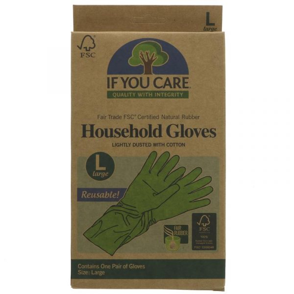 If You Care Latex Household Gloves- Large