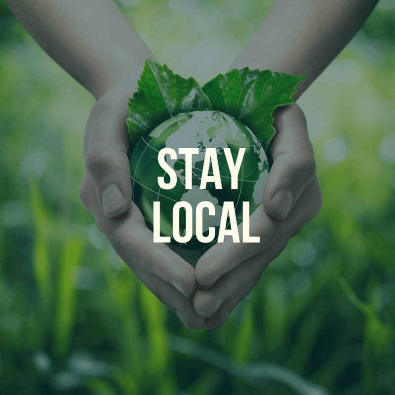 Stay Local Easter Sustainable